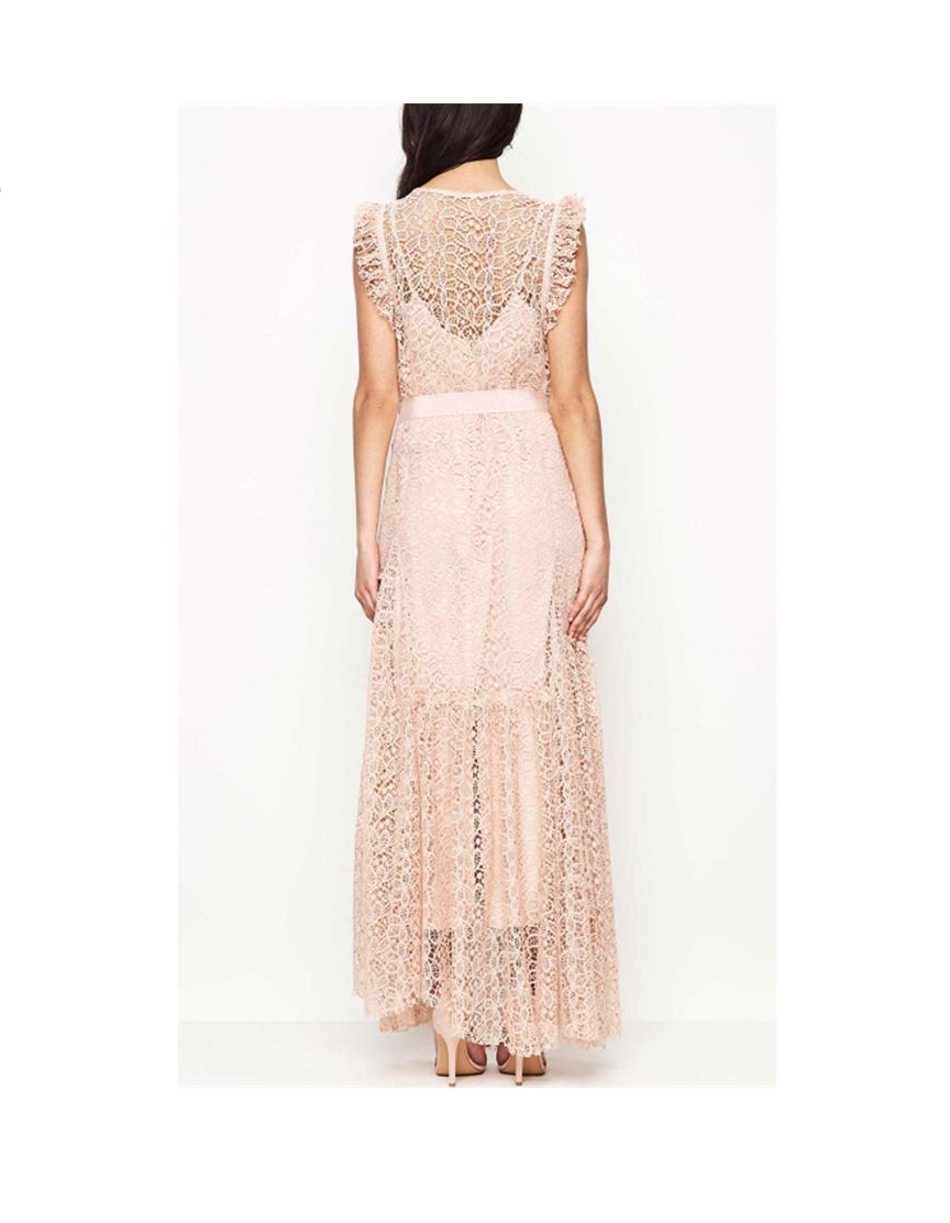 ALICE MCCALL REFLECTION GOWN NUDE LACE SZ 0- NWT NWT NWT fc377d