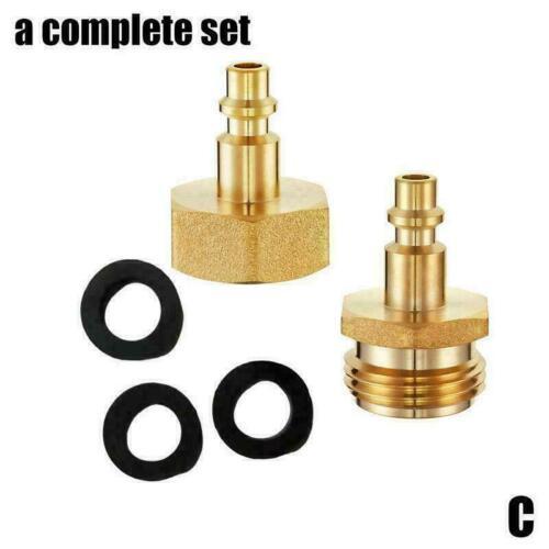 Sprinkler Faucet Spigot /& Hose by Blow Out Adapter Plug Fitting K1V8 Y2F7