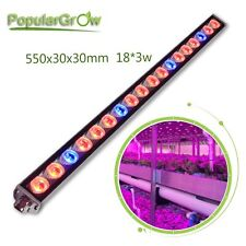 PopularGrow 54w LED Grow Light Bar professional Hydroponics Medical Plants IP65