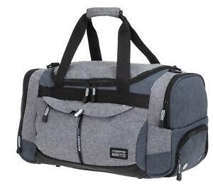 Details zu Sporttasche Alessandro Gym Mate Sport Tasche Saunatasche Damen 12756 Bag TT Grau