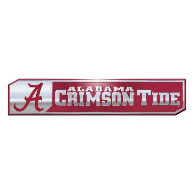 Alabama Crimson Tide NCAA Licensed Sparkle Bling Emblem Decal