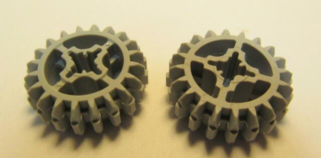2x lego Technic alineación pin conector blanco 32014 nº 6 90 ángulo 90 ° 4125366