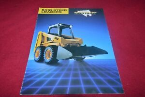 Details about Mustang 920 930A 940 960 Skid Steer Loader Dealer's Brochure  CDIL ver3