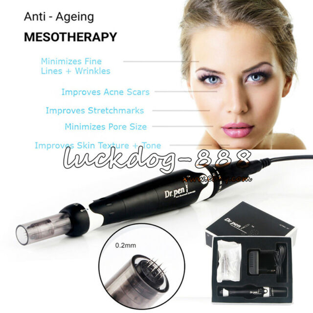 Dr pen Ultima A7 Electric Derma Pen Stamp Auto Micro Needle Anti Aging  Therapy