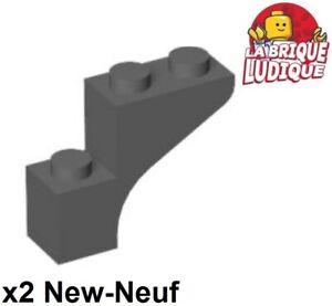 Brick Arch 1x3x3 Marron Reddish Brown New Neuf Lego 13965-4x Briques