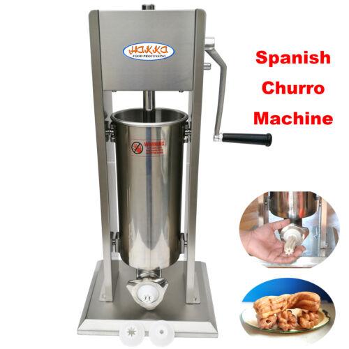 Hakka 2 in 1 Sausage Stuffer and Spanish Churro Maker Machines 11LB//5L