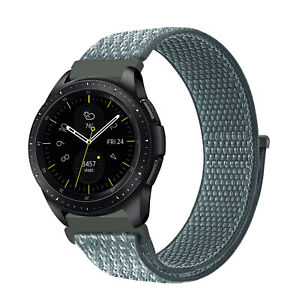 For Samsung Galaxy Watch Active2 44mm / Active 40mm Bands Nylon Sport Loop Strap