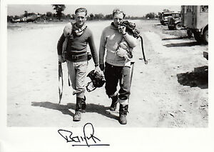 WWII-WW2-RAF-Ace-Battle-of-Britain-BAMBERGER-DFC-signed-photo-flying-gear
