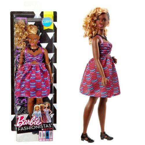 Mattel DVX79 Barbie Zig /& Zag Fashionistas 57 Bambola Vestito Stampa Tribale