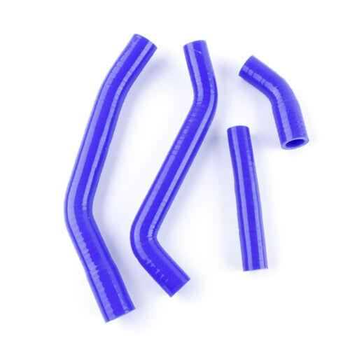 For Yamaha YZ450F YZF450 2010 11 12 13 Silicone Radiator Coolant Hose Kit Blue