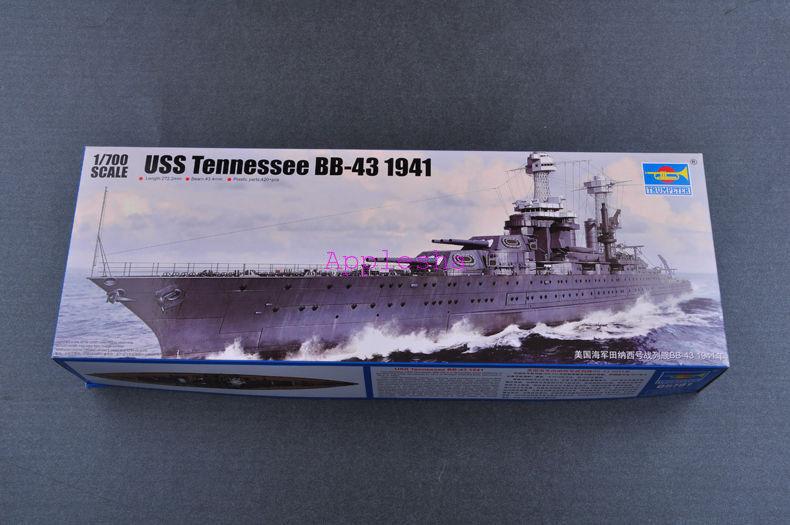 Trumpeter 05781 1 700 USS Tennessee BB-43 1941