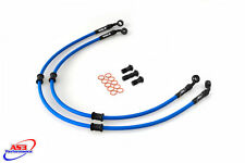 SUZUKI GSXR 600 2001-2003 AS3 VENHILL BRAIDED FRONT BRAKE LINES HOSES RACE