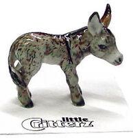 ➸ Little Critterz Farm Field Animal Miniature Figurine Donkey Duffy