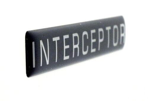 INTERCEPTOR   EMBLEM  SATIN
