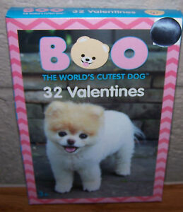 image is loading valentines day cards box of 32 boo the - Dog Valentines Day Cards