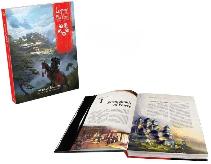 La  leggenda dei cinque anelli RPG-SMERALDO Empire  vendita di fama mondiale online