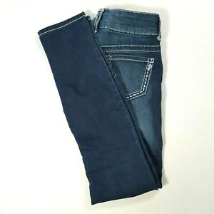 MAURICES-Womens-JEGGING-Low-Rise-Skinny-Jeans-Dark-Wash-Size-XS-REGULAR