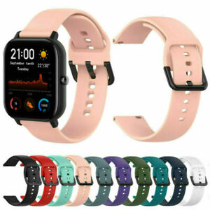 20mm Silicone Band Strap Smart Watch Replacemen Bracelet For Huami Amazfit Bip~