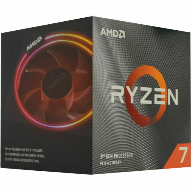 Amd Ryzen 7 3800x 3 9ghz Octa Core Processor For Sale Online Ebay