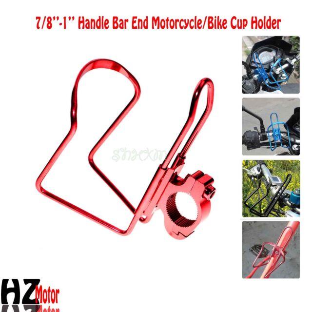 Motorcycle Red Drink Bottle Holder Fit Yamaha Virago XV 1100 250 535 700 750 920