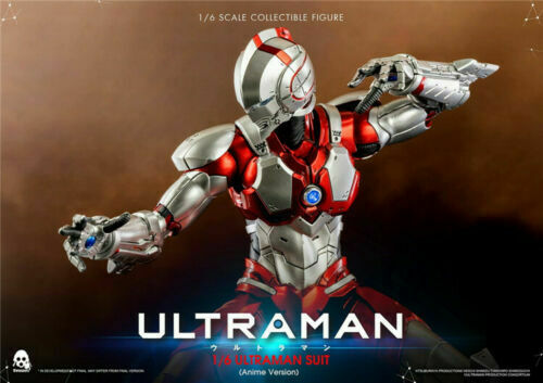 1 6 ULTRAMAN SUIT Anime Version Altman Figure Threezero 3A 3Z0129 Collectible
