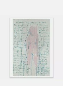 Tracey Emin I am the Last 'Plate Signed' in the ORIGINAL TUBE