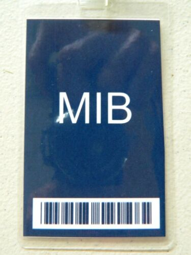 , MIB Badge ID//Security Badges HALLOWEEN COSTUME MOVIE PROP