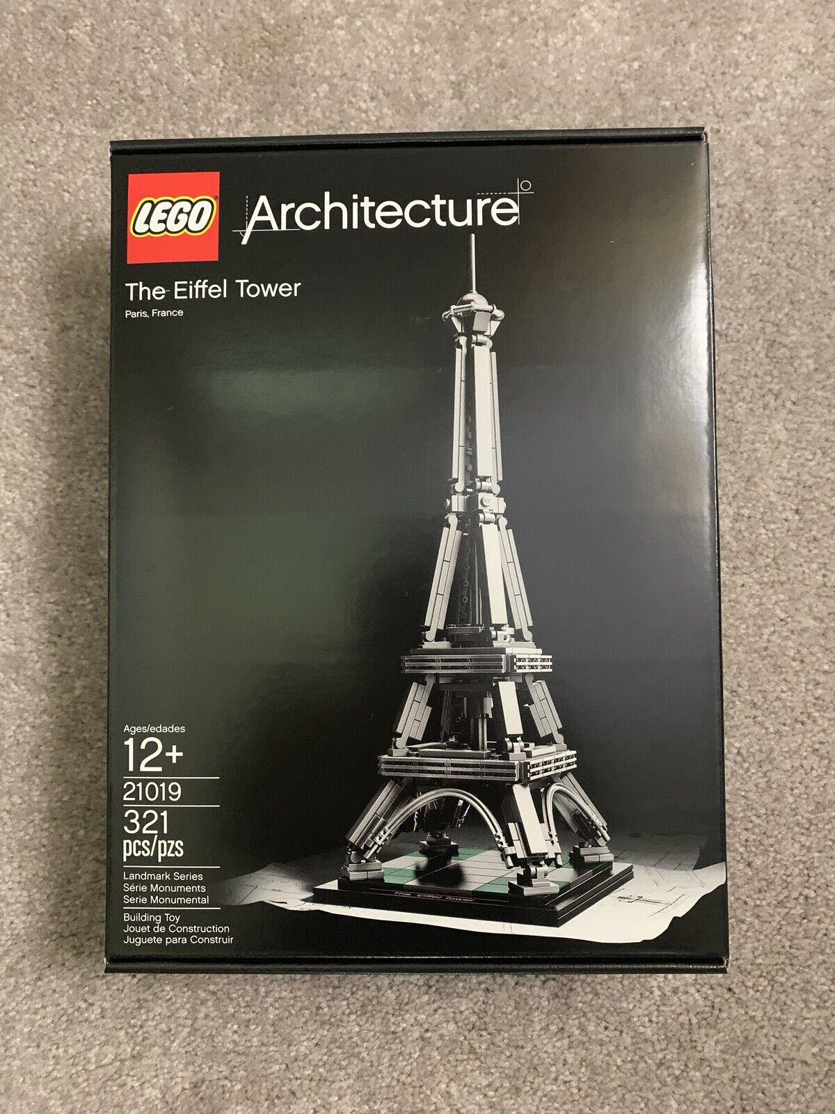 Ages 12+ 321 PCS LEGO Architecture Eiffel Tower 2014 French Landmark 21019