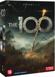 COFFRET NEUF DVD SERIE AVENTURE FICTION : LES 100 - SAISONS 1 à 4 INTEGRALE