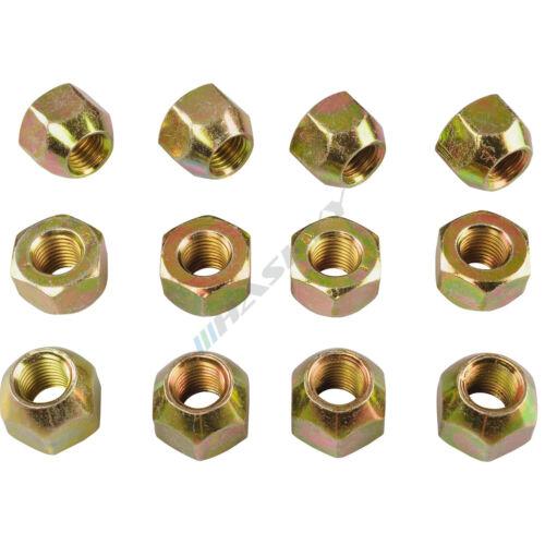16 zinco ALETTA madre aperto m14x1,5 sw21 cono cono federale Alluminio Acciaio Cerchioni