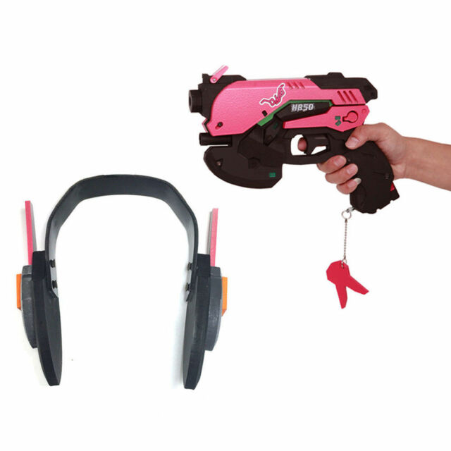 Costumes & Accessories Halloween Game Overwatch Ow Dva D.va Headset Gun Pistol Earphone Game Cosplay Props Costume Gifts High Quality Costume Props