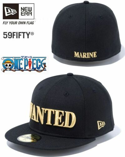 ONE PIECE × NEW ERA Collaboration 59FIFTY Cap Bounties Mens Size Black Japan F//S