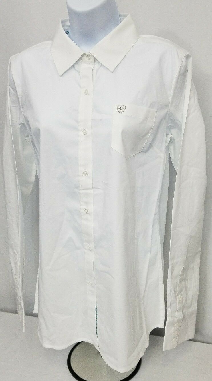 Ariat Women's Western Kirby Stretch Button Shirt. Ladies size SMALL. Fitted.
