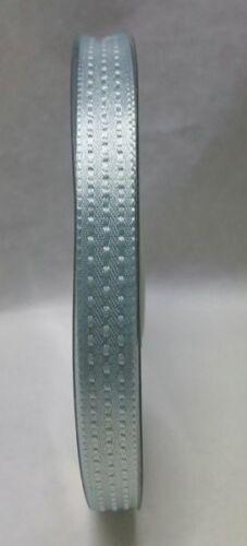 Nastro Doppio raso Impunturato CELESTE 10 mm x 25 metri