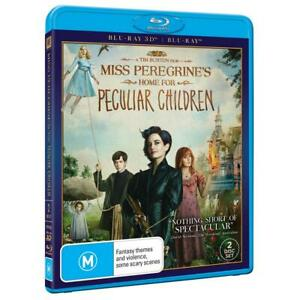 Miss-Peregrine-039-s-Home-For-Peculiar-Children-Blu-ray-3D-2D-NEW-Miss-Peregrines
