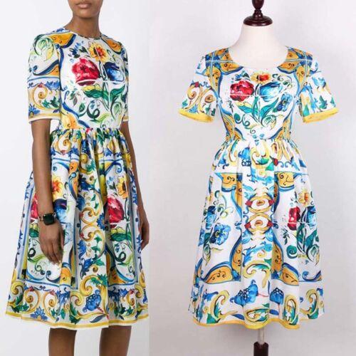 DMS 25 Women RUNWAY designer inspired SUMMER DRESS plus size