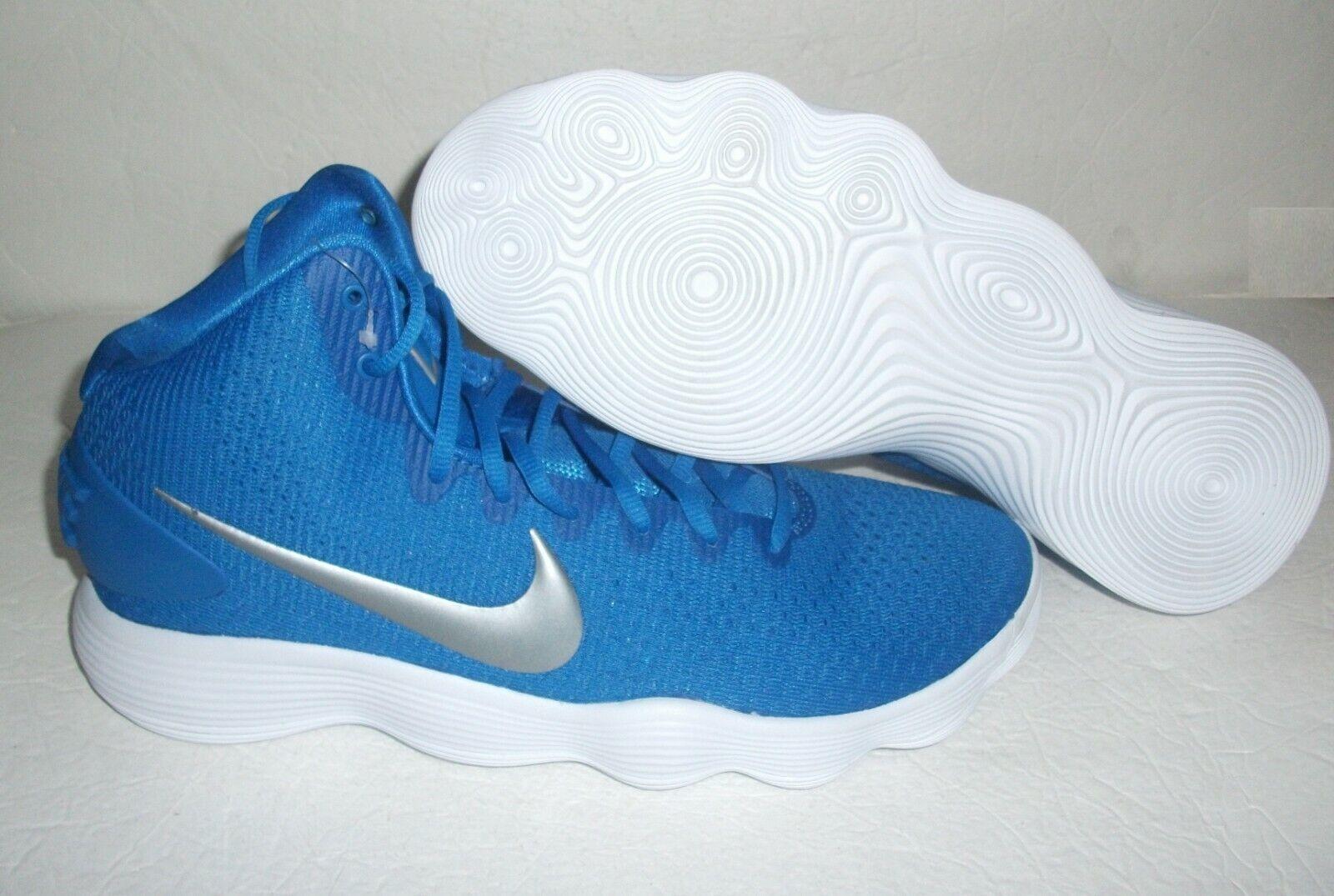 New Nike Hyperdunk 2017, Men's Size 12.5, bluee White, 942571-407 Basketball