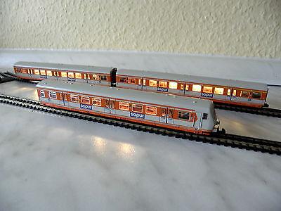Spur N 3 Sätze Innenbeleuchtung Minitrix 51102700 S-Bahn-Zug