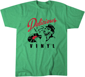 Delicious-Vinyl-Records-PROMO-T-Shirt-Classique-Hip-Hop