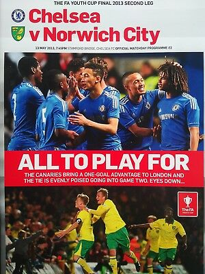 CHELSEA v MALMO EUROPA LEAGUE 2019 official programme brand new mint condition