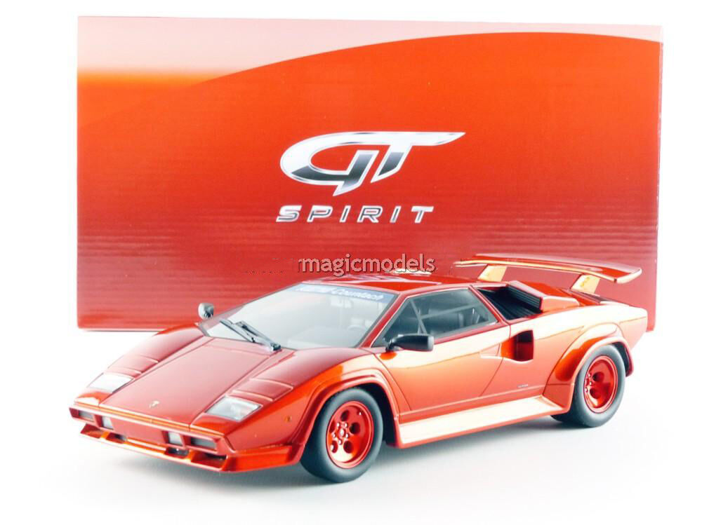 GT Spirit Lamborghini Countach Koenig Specials Red Metallic LE of 1750 1 18 New
