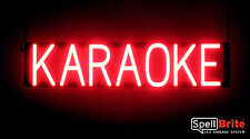 SpellBrite Ultra-Bright KARAOKE Sign Neon-LED Sign (Neon look, LED performance)