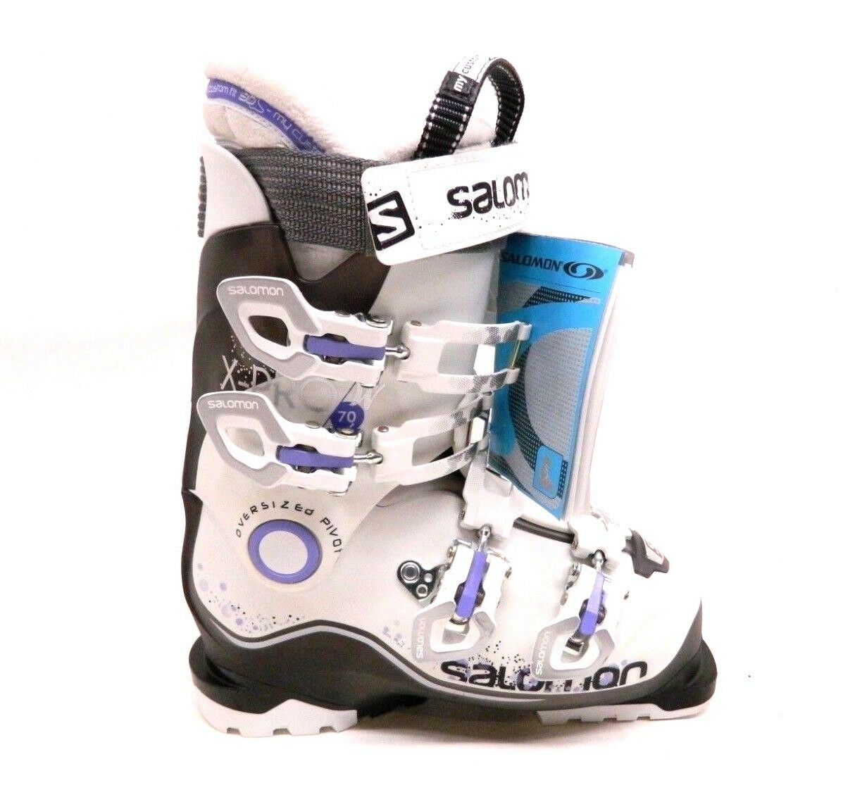 Replacement Boot Right SALOMON   X-PRO 70 W LADIES SKI BOOT 23.5 MONDO Purple  best price