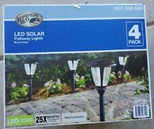Outdoor Light Solar Decorative Yard Patio Hampton Bay Bromeliad Brown Plant Led For Sale Online Ebay