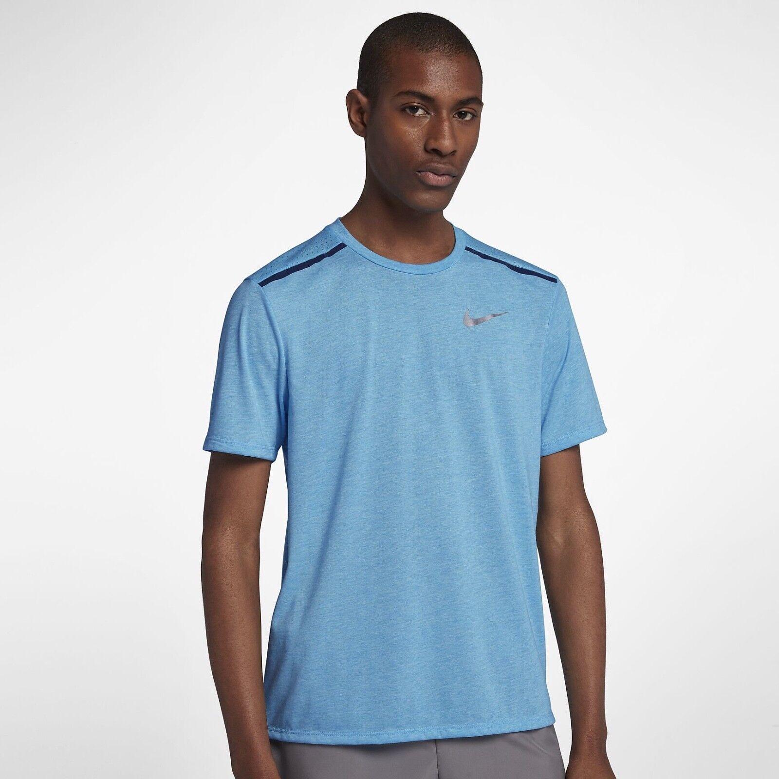 Mens NIKE RUNNING BREATHE Tailwind Shirt Size XL.      892813-482