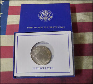 1986 Statue of Liberty Uncirculated Half Dollar Commemorative Coin US Mint