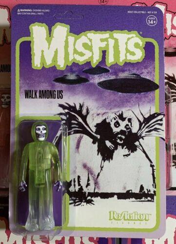 THE MISFITS Walk Among Us Vert Fiend Super 7 ReAction figurine