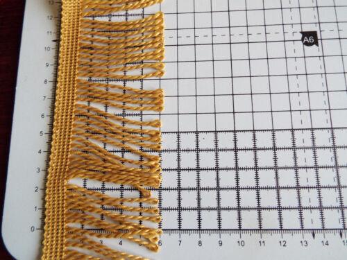 Edging Bullion  60 mm 2 m Fringe// Fringing Tassel Looped Trimming 18 colours