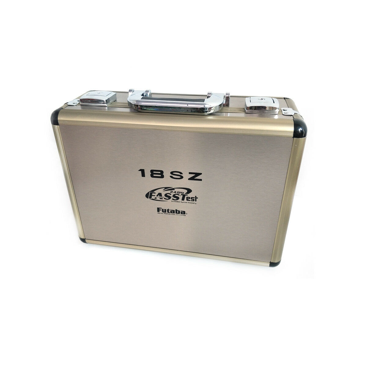 Advanced RC Drone Carry Hard Aluminum Case For Futaba 18MZ 18SZ 14SG 10C 8FG 8J