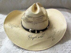 old nascar driver cowboy hat
